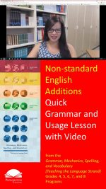 Using Non-standard English Additions