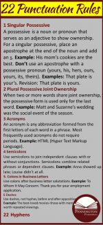 The 22 Punctuation Rules