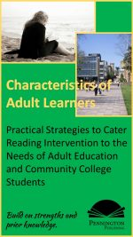 Characteristics of Adult Learners in Reading Intervention
