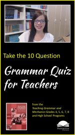 The Grammar Quiz for Teachers
