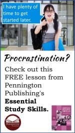 The Procrastination Prevention Plan