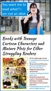 Phonics Books for Struggling Readers