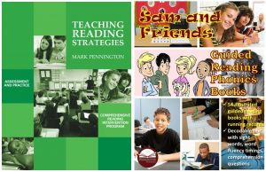 Teaching Reading Strategies and Sam and Friends Guided Reading Phonics Books BUNDLE