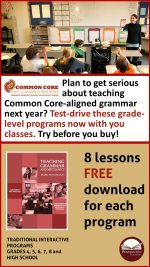 Teaching Grammar and Mechanics Grades 4, 5, 6, 7, 8, and High School