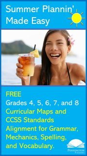 Curricular Maps for Grades 4, 5, 6, 7, 8