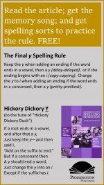 FinalySpelling Rule
