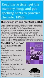 "The ""an"" and ""en"" Suffixes"