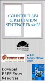 Counterclaim and Refutation