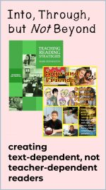 Text-Dependent Reading Instruction
