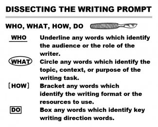 Dissecting the Essay Prompt