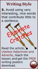 Eliminate Writing Crutches