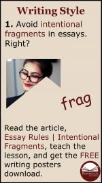 How to Avoid Intentional Fragments in Essays