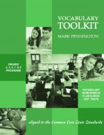 Common Core Vocabulary Toolkits Grades 4-8