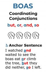 Coordinating Conjunctions for Elementary School
