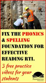 3 Phonics and Spelling Videos