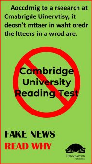 Cambridge University Reading Exam