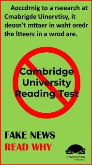 Cambridge University Reading Exam