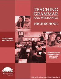 High School Teaching Grammar and Mechanics