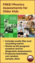 FREE RtI Phonics Assessments
