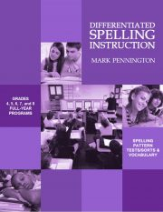 Differentiated Spelling Instruction