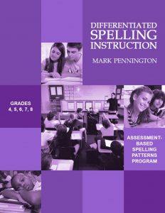 Differentiated Spelling Instruction Programs