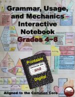 Grammar Interactive Notebook for grades 4-8