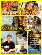 Grammar, Usage, and Mechanics Remedial Literacy Center for grades 4-8