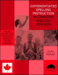 Canadian English Spelling Program