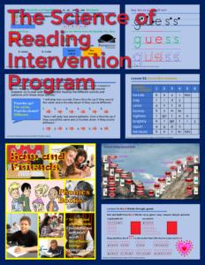 Intervention Program Science of Reading
