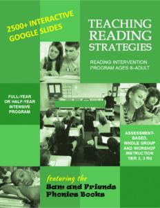 Reading Intervention Program Teaching Reading Strategies